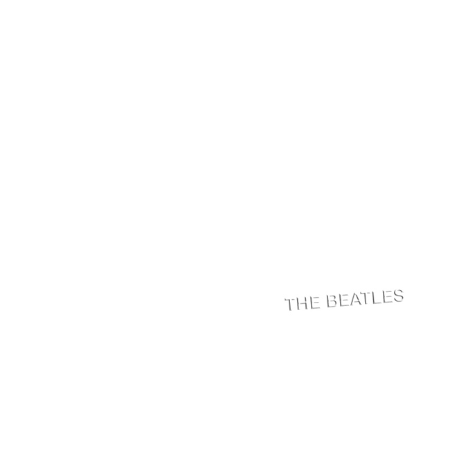 The Beatles The Beatles (The White Album) Album Cover